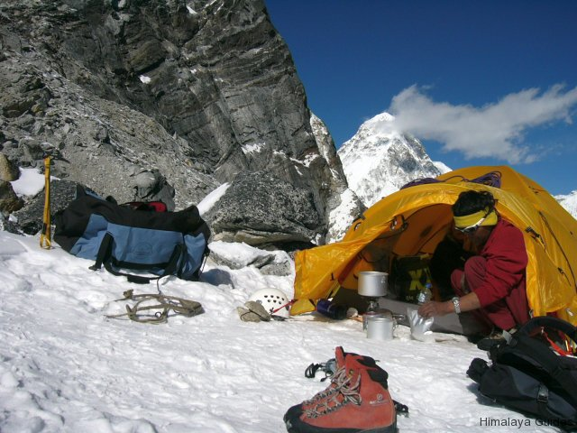lobuche camping