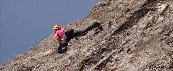 khumbu rock climbing in Nepal