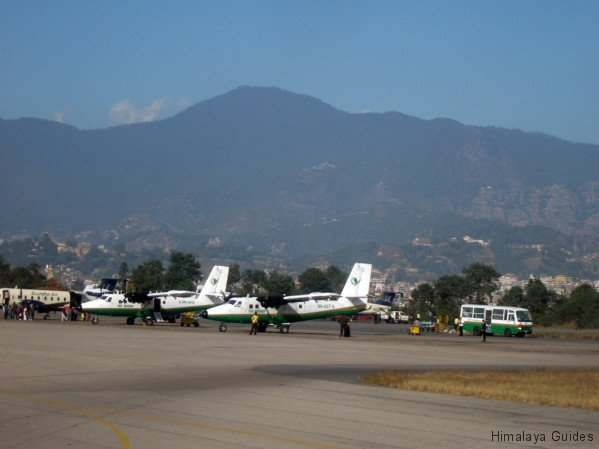 mountain flights from Kathmandu, Nepal