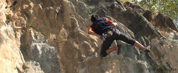 nagarjun rock climbing Nepal