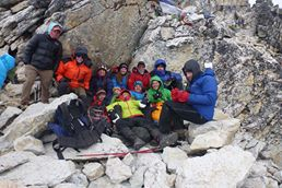 Norwegien Everest base camp trek 2014 Spring