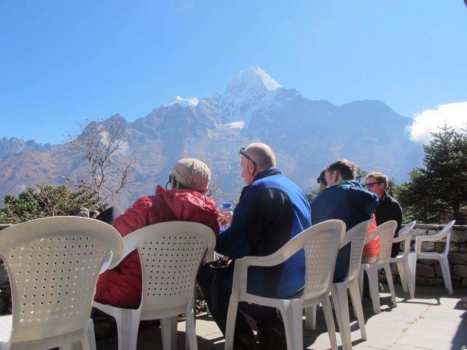 Ama-dablam climbing expedition Autum 2016