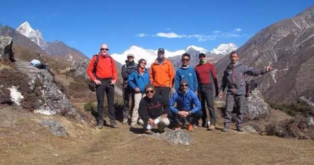 Himalaya five peaks with technical climbing course + Mt. Ama Dablam climbing expedition autumn 2016.