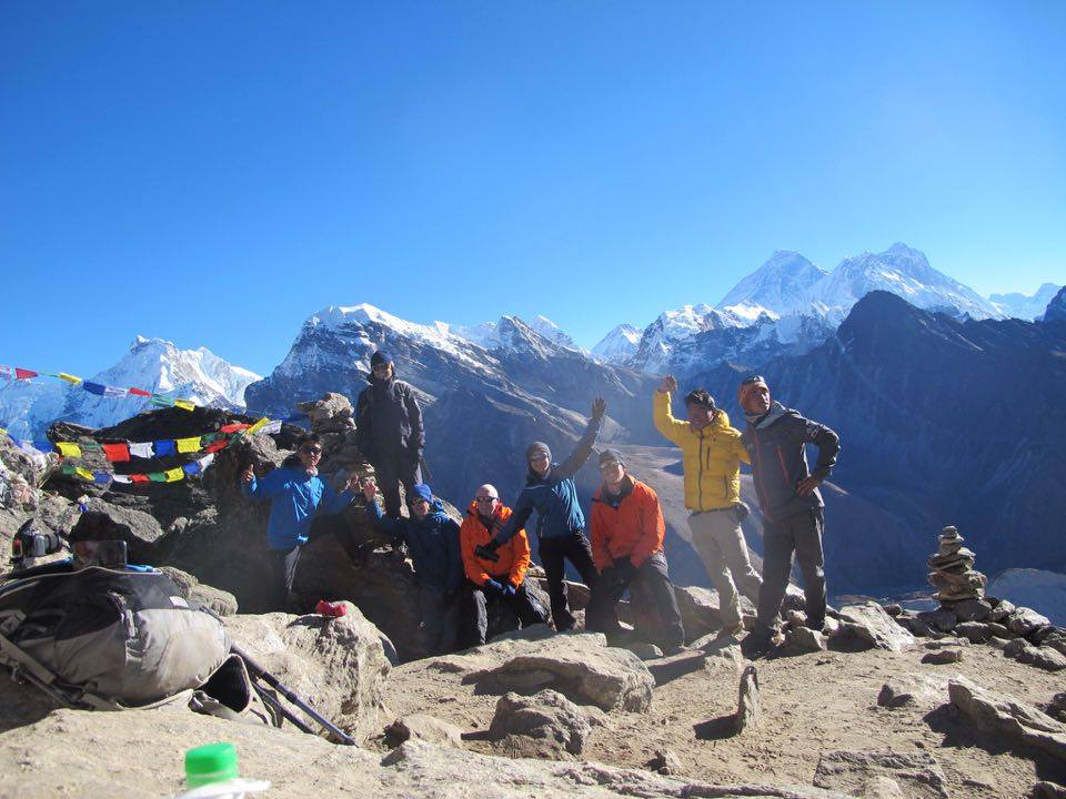 Top Himalaya guides Himalaya five peaks with technical climbing course + Mt. Amadablam climbing expedition Autum 2016 team
