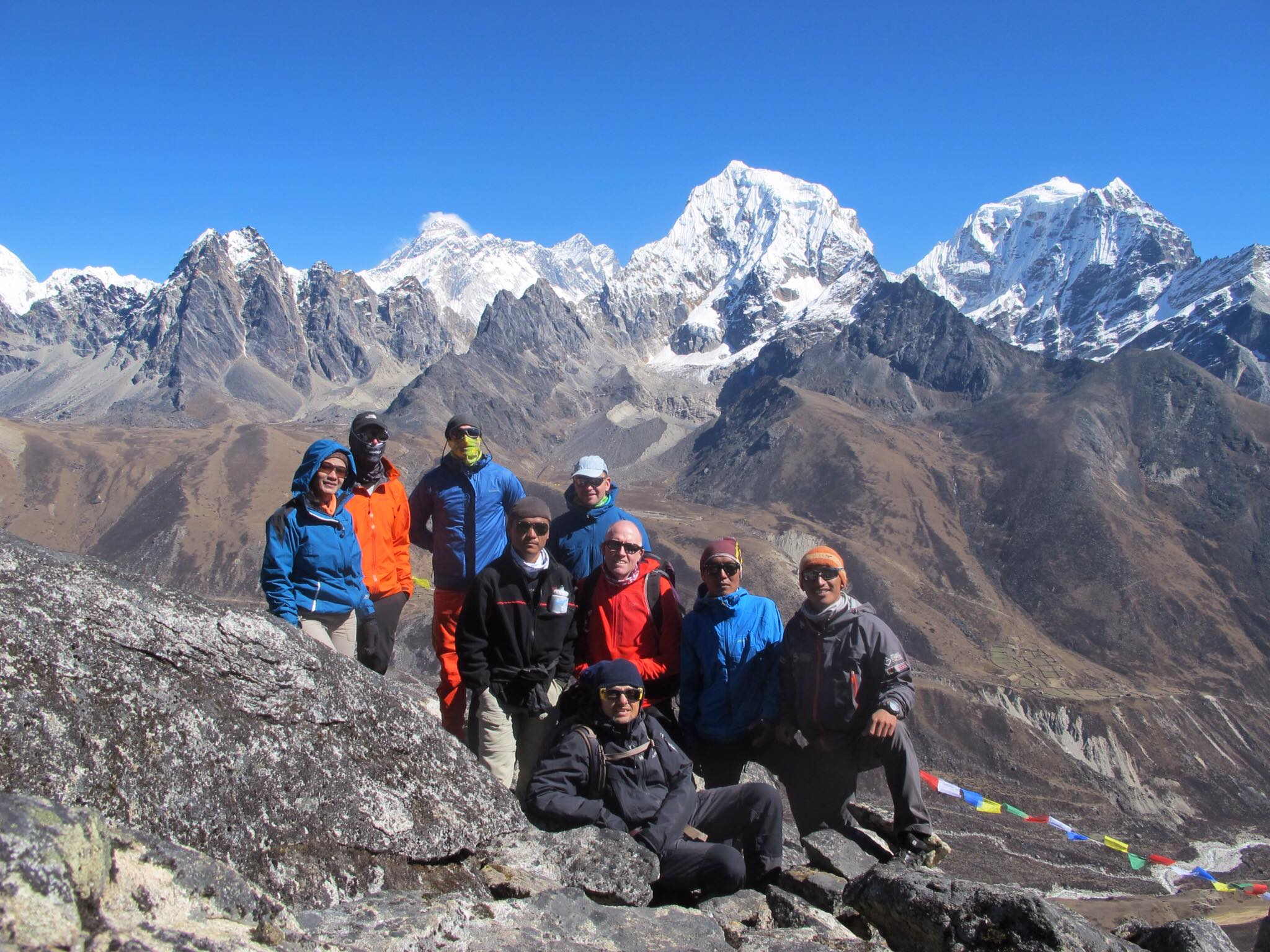 Himalaya, Machhermo. Tawoche.