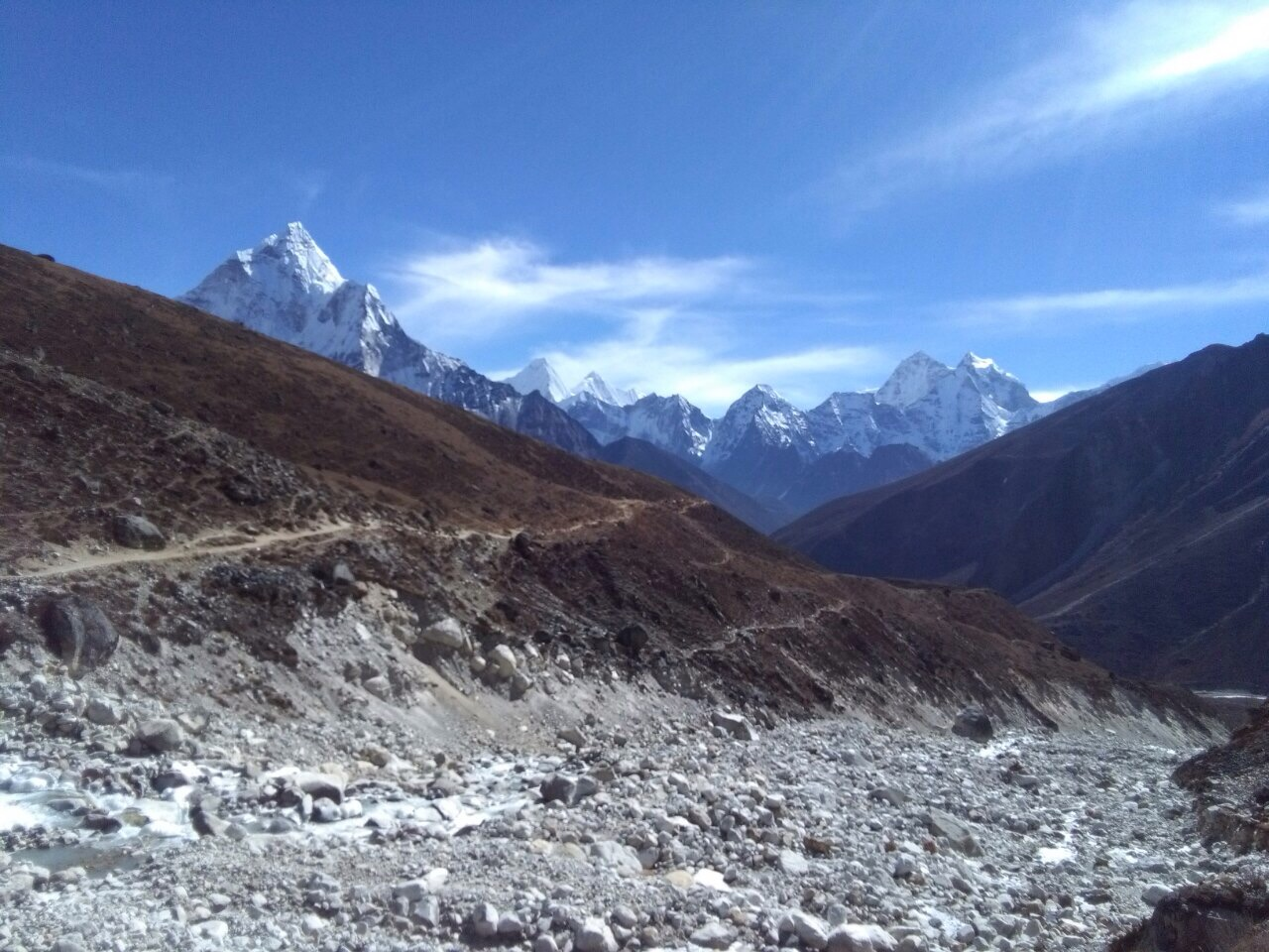 Himalaya five peaks technical course +Mt.Ama-Dablam