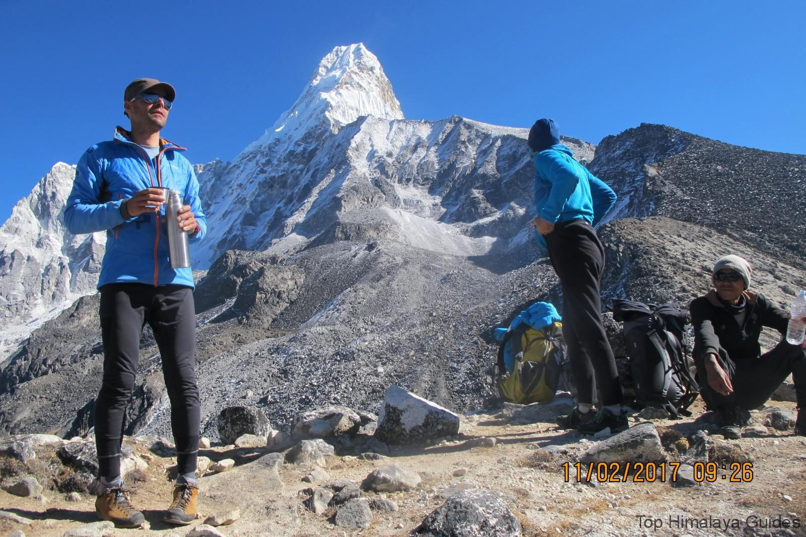 Ama Dablam Expedition - international Mountain guides
