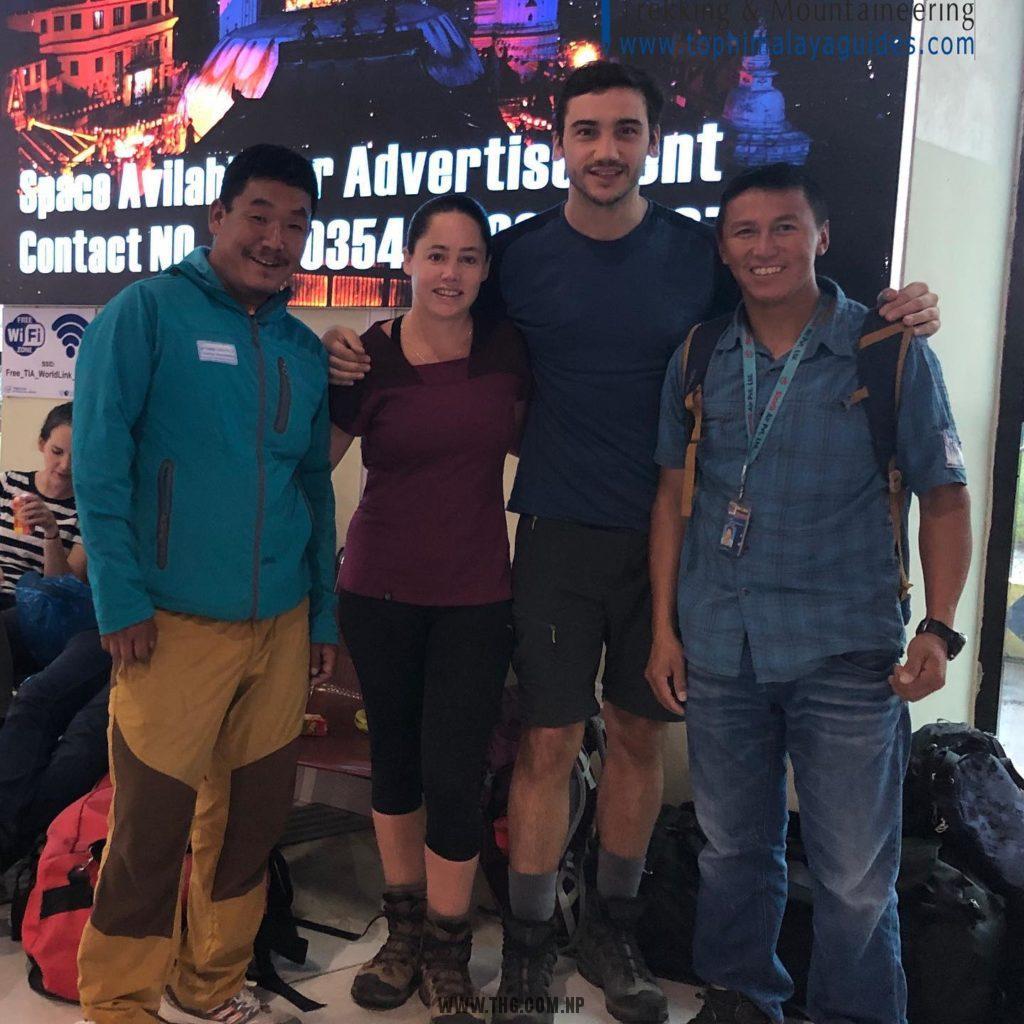 Top Himalaya Guides - 3 passes trek team