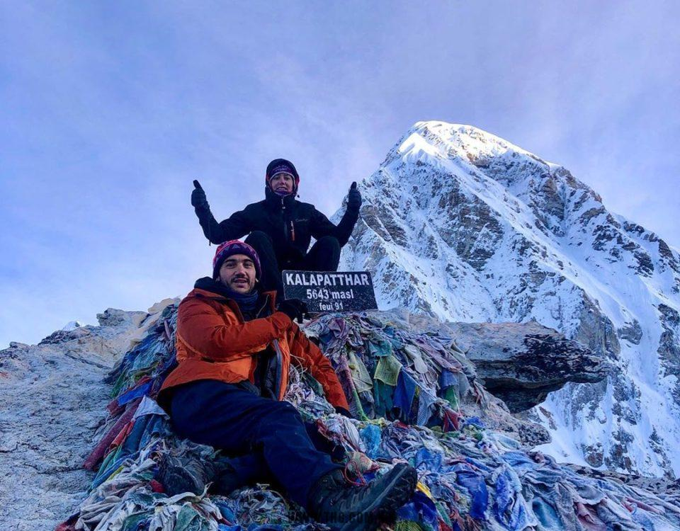 3 passes with Everest trek