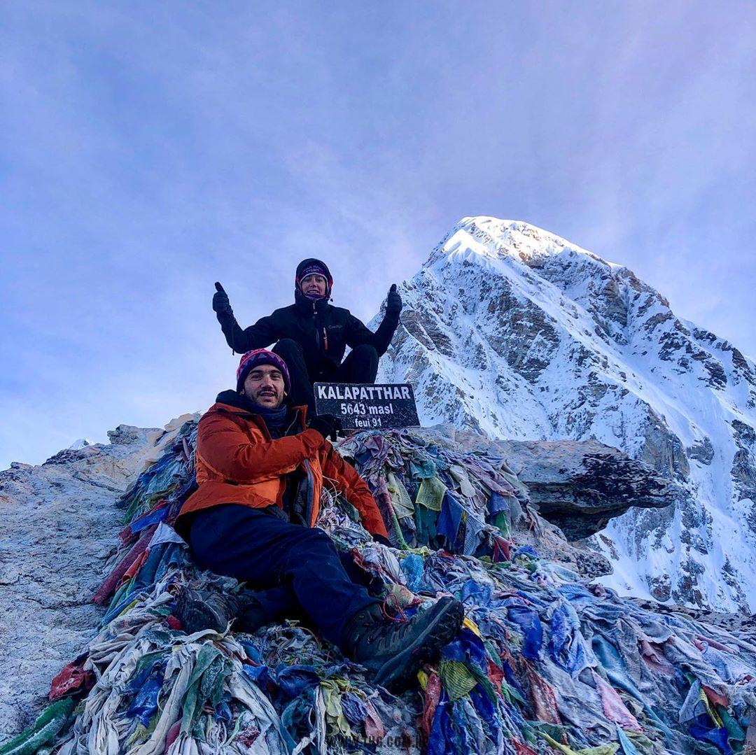 3 pass with Everest Base Camp trek -