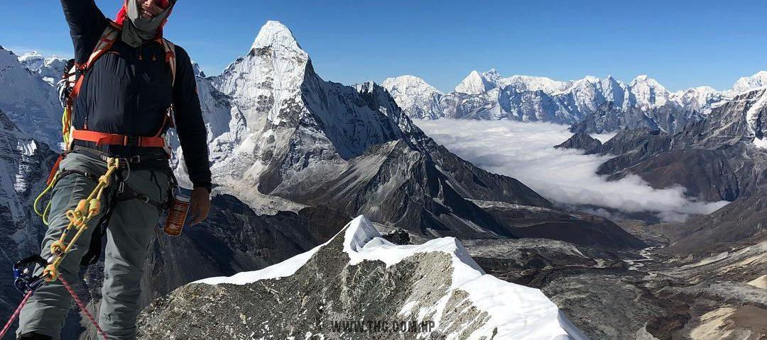 Top Himalaya Guides & MAA Mt. Ama Dablam climbing expedition 2018