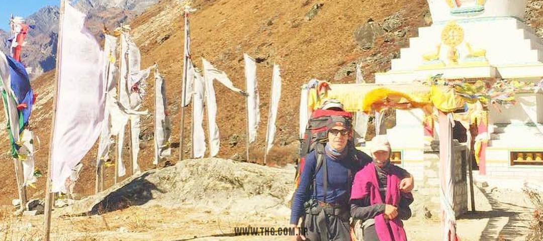 acclimatization at Kyangjin Gumba - Langtang valley trek with Yala peak climbing 2018