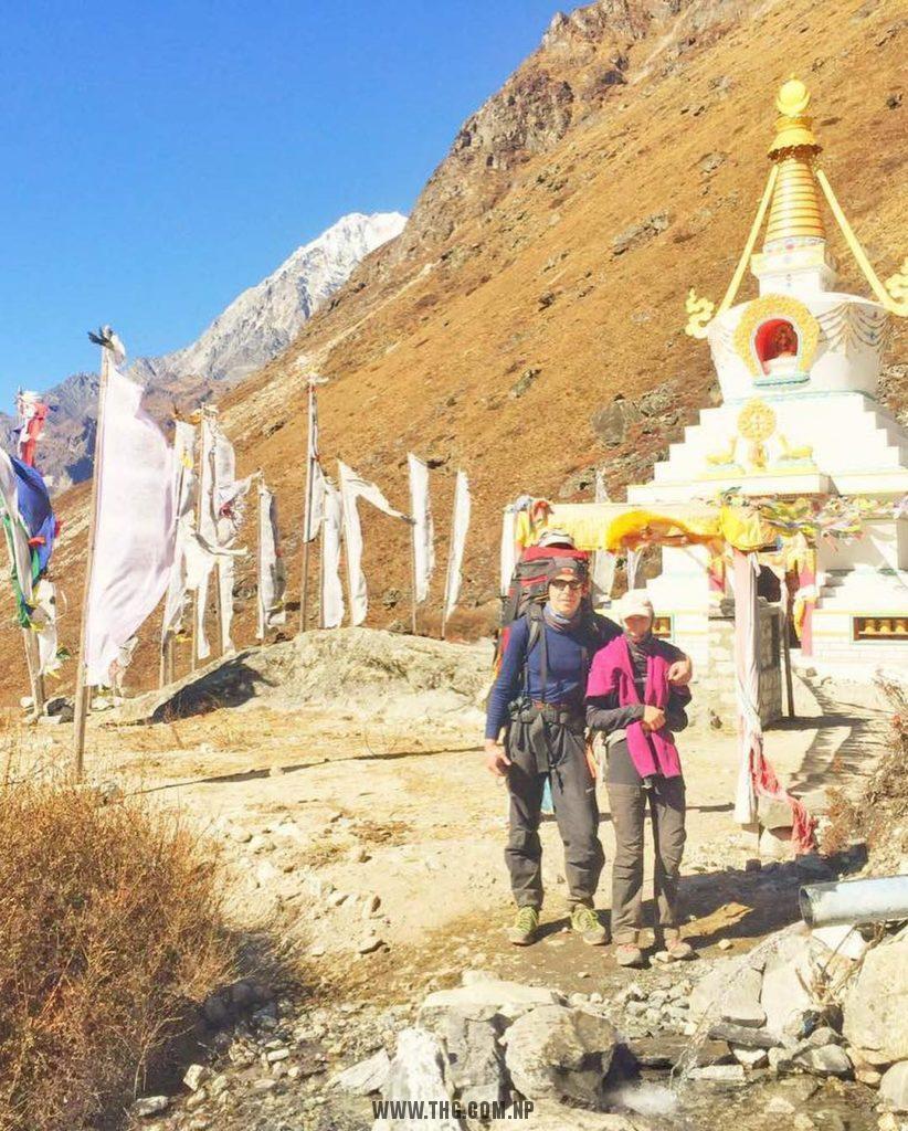 Top Himalaya Guides Langtang valley trekking with Yala peak climbing team are at Kyangjin Gumba (3888m). Enjoy acclimatization days at Kyangjin Gumba.