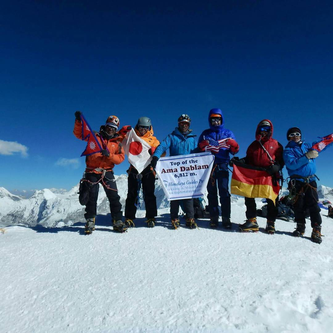 Himalaya Five Peaks Technical Climbing Course with Ama Dablam Expedition
