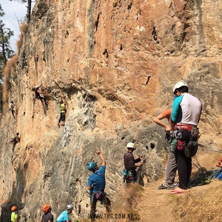 Bimal Nagar Rock Climbing
