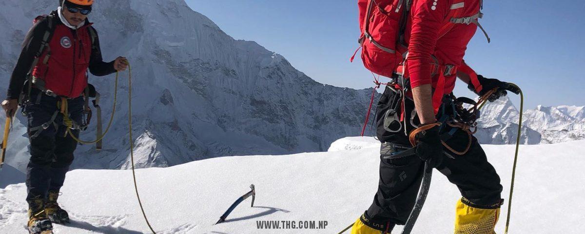 Everest Base Camp Trek, Lobuche Peak and Island Peak Climb 2021