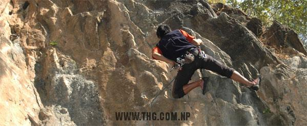 Nagarjun (Balaju) Rock Climbing